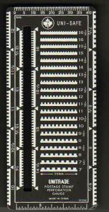 Uni-safe Superior Gauge Slotted METAL Perforation Multi Perf Gauge - NEW  (98)