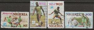 Nigeria 684-687 u