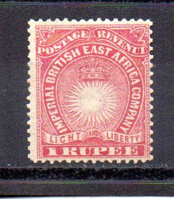 British East Africa 25 MH