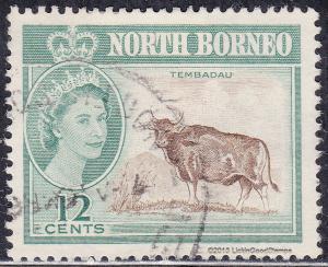 North Borneo 285  Banteng, Wild Oxen, Tembadau 1961