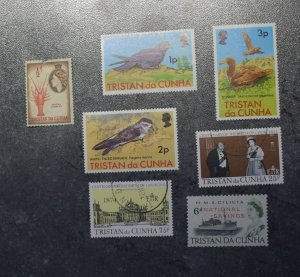 TRISTAN DA CUNHA  Stamps   stock page 2B   MNH and used  ~~L@@K~~
