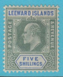 LEEWARD ISLANDS 28 MINT  HINGED OG * NO FAULTS EXTRA FINE !