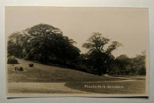 Vintage Belvedere Franks Park Roscommon Ireland Real Picture Postcard Cover