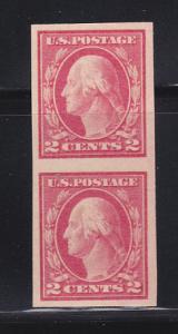 United States 409 Pair MNH George Washington (A)