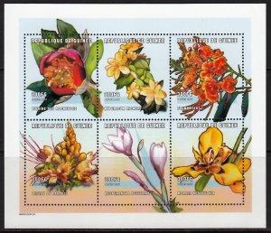 GUINEA 2001 FLOWERS BLUMEN FLEURS [#0106]