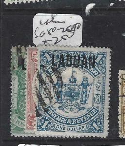 LABUAN   (P2704B)  25C-$1.00  SG 80-2  CTO