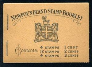 NEWFOUNDLAND: Sc.#BK2  **  COMPLETE BOOKLET, SUPERB complete BOOKLET, Inc.#18...