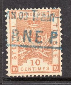 Switzerland Bern Canton Early Issue Fine Used 10c. 081844
