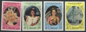 ST.VINCENT SG1066/9 1987 TENTH ANNIV OF CARNIVAL MNH