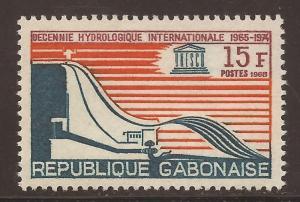 Gabon  # 227  Mint