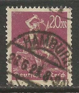 GERMANY 224 VFU C218-1