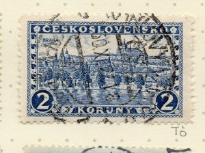 Czechoslovakia 1926-27 Issue Fine Used 2k. NW-148609