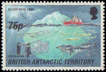 British Antarctic Territory #235-238, Complete Set(4), 1991, Never Hinged