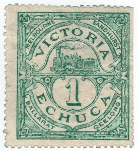 (I.B) Australia - Victoria Echuca Railways : Parcel 1d