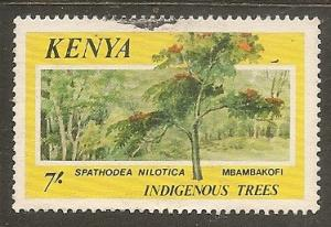 Kenya     Scott 363     Tree     Used