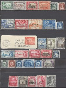 COLLECTION LOT OF #1125 ADEN 31 STAMPS  1939+ CV+$22