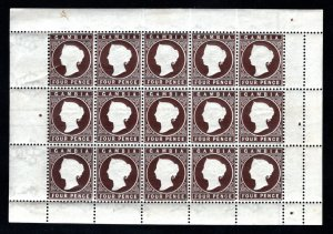 GAMBIA  SC# 17  *TEAR IN UPPER LEFT*  FVF/MNH
