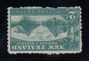New Zealand, SG 316w, MLH Watermark Inverted variety