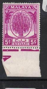Malaya Kedah SG 79ab With Margin MNH (8drb)