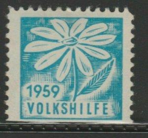 Volkshilfe 1959 Cinderella Poster Stamp Reklamemarken A7P5F841