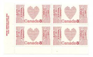 Canada - 1972 World Health Day Plain Paper Blocks mint #560i
