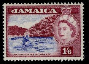 JAMAICA QEII SG169, 1s 6d ultramarine & reddish purple, NH MINT.