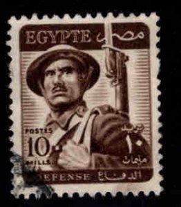 Egypt Scott 327 Used Defense stamp