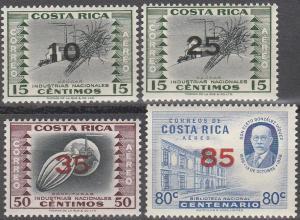 Costa Rica #C334, C335-7 MNH VF  (SU2399)