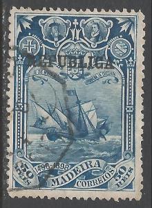 PORTUGAL 202 VFU SHIP S698