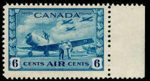 CANADA SG399, WAR EFFORT 6c Blue, UNMOUNTED MINT. Cat £32.