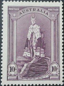Australia 1938 Ten Shillings Robes SG 177 mint