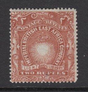 British East Africa, Sc 27 (SG 16), MHR