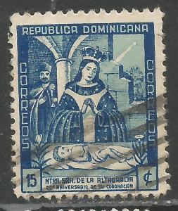 DOMINICAN REPUBLIC 398 VFU P189-3
