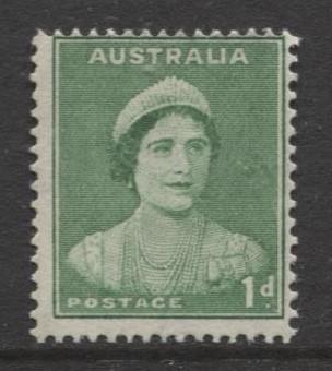Australia - Scott 167 (l) -Queen Elizabeth -1937- MNH - Single 1d stamp