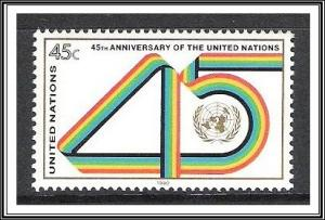 UN New York #578 45th Anniversary MNH