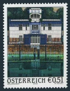 Austria 1905,MNH. Schutzenhaus,by Karl Goldammer,2002.