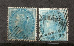 India - SG# 37 & 38 Used / unwmk       -        Lot 0920119