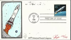 Pugh Designed/Painted Hypersonic Airliner FDC...181 of 199 created!