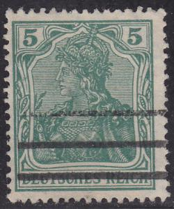Germany 82 USED 1905 Germania WMK 125 5pf