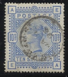 SC109   10 Sh Used VF Centering SON Cancel Couple of (trivial?) short perfs