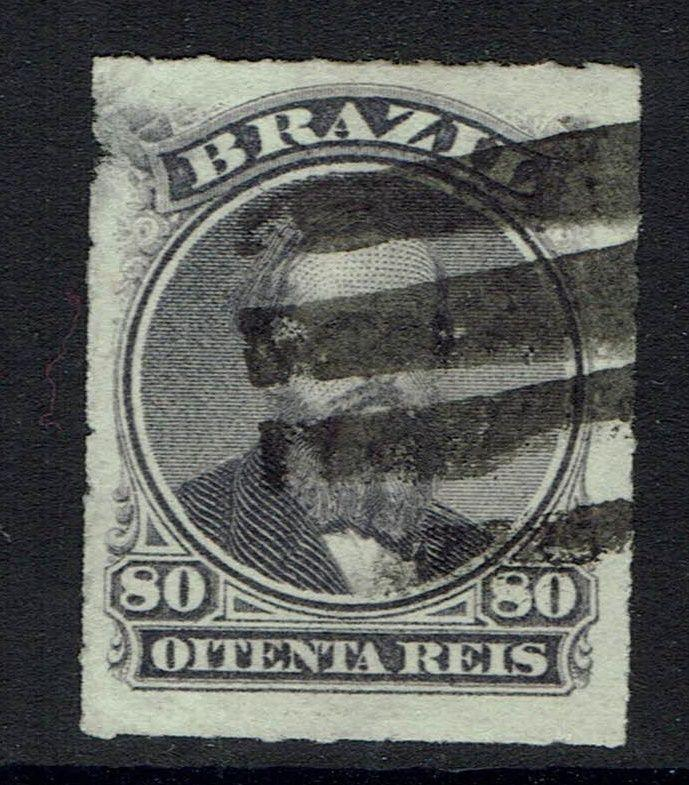Brazil SC# 64, Used, Small Upper Left Side Thin -  Lot 032717