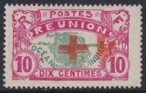 Reunion 1915 B 2b MLH Double Impression