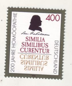 J11004 JL Stamps 1996 mnh germany set of 1 medicine