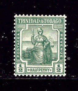 Trinidad and Tobago 12 MH 1921 issue