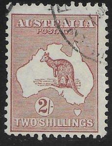 Australia #125 used Kangaroo.  Nice