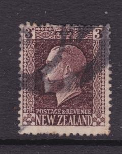 New Zealand a used KGV 3d recess no watermark