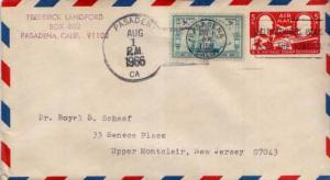 United States, Postal Stationery, Post 1950 Commemoratives, California