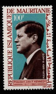 Mauritania Scott C40 MH* JFK Airmail stamp