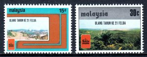 Malaysia - Scott #153-154 - MNH - SCV $1.60