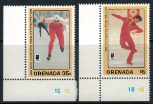 Grenada #2214-5* NH  CV $5.00  1994 Winter Olympics